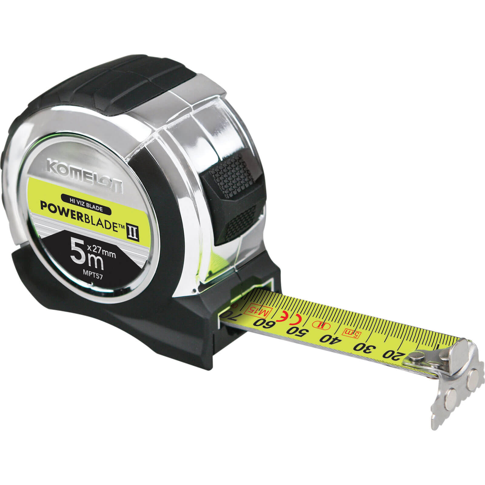 Image of Komelon Powerblade Tape Measure Metric 5m 27mm
