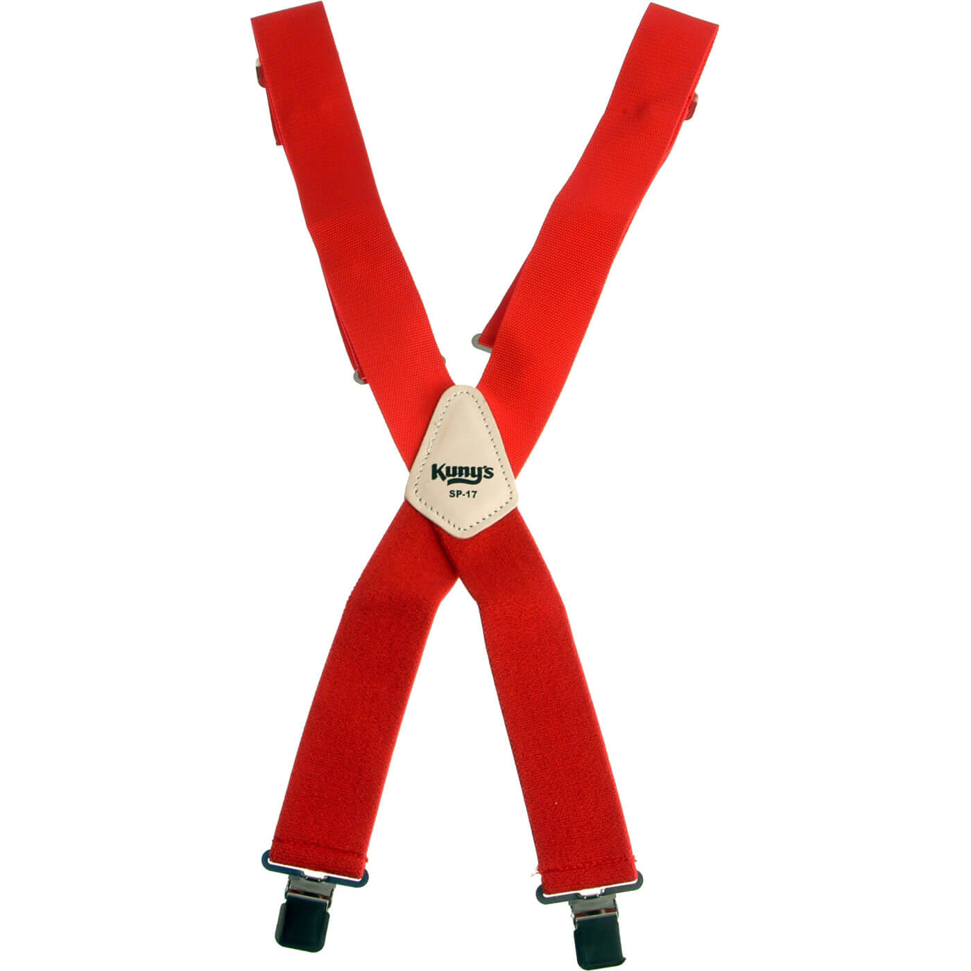 Image of Kunys Work Trousers Braces Red