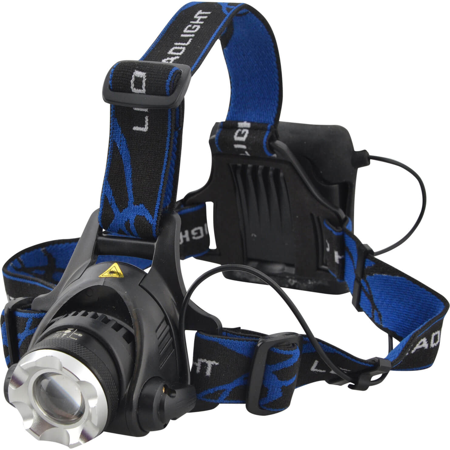 Image of Lighthouse 3w CREE LED Zoom Head Torch Black