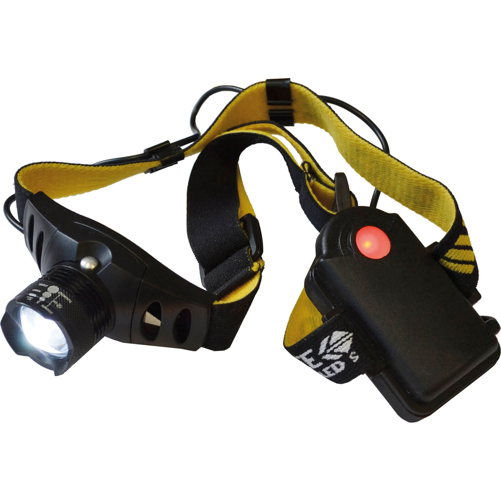 Image of Lighthouse 3 Function Head Torch 3 Watt Black