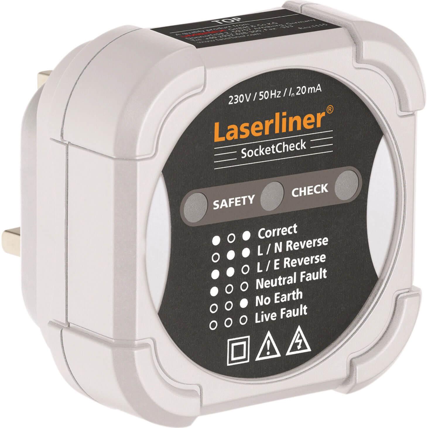 Image of LaserLiner Socket Check Quick Socket Wiring Tester