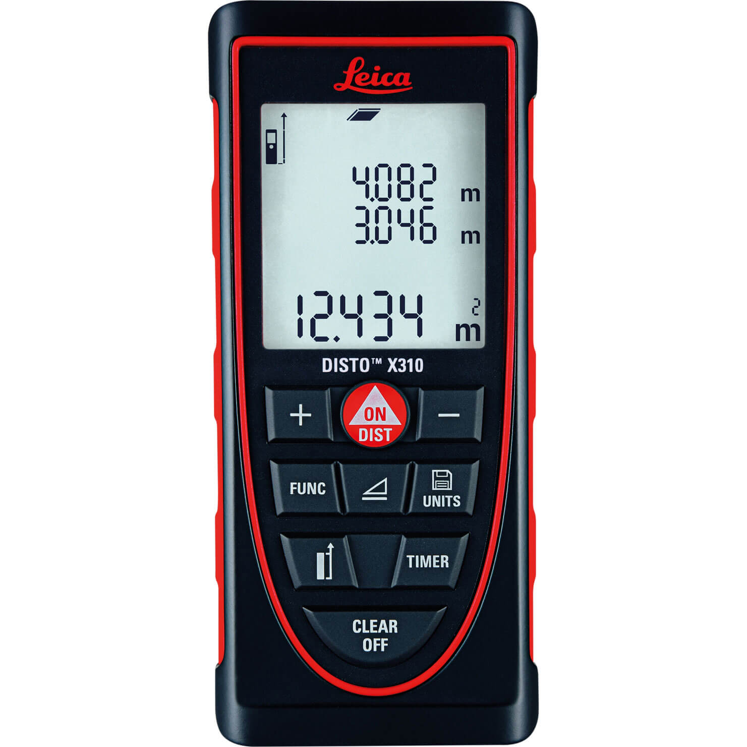 Image of Leica Geosystems Disto X310 Distance Laser Measure 120m / 393ft