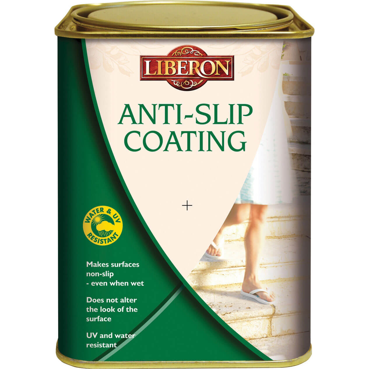 Liberon Anti Slip Coating for Interior & Exterior Floors 1L
