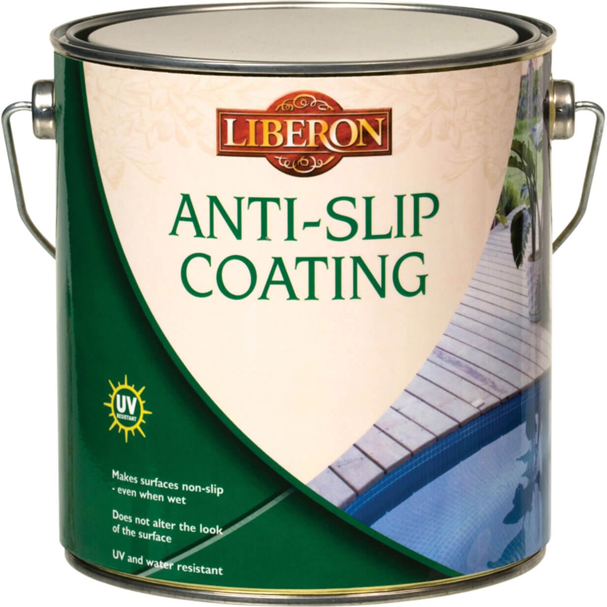 Image of Liberon Anti Slip Coating for Interior & Exterior Floors 2.5l