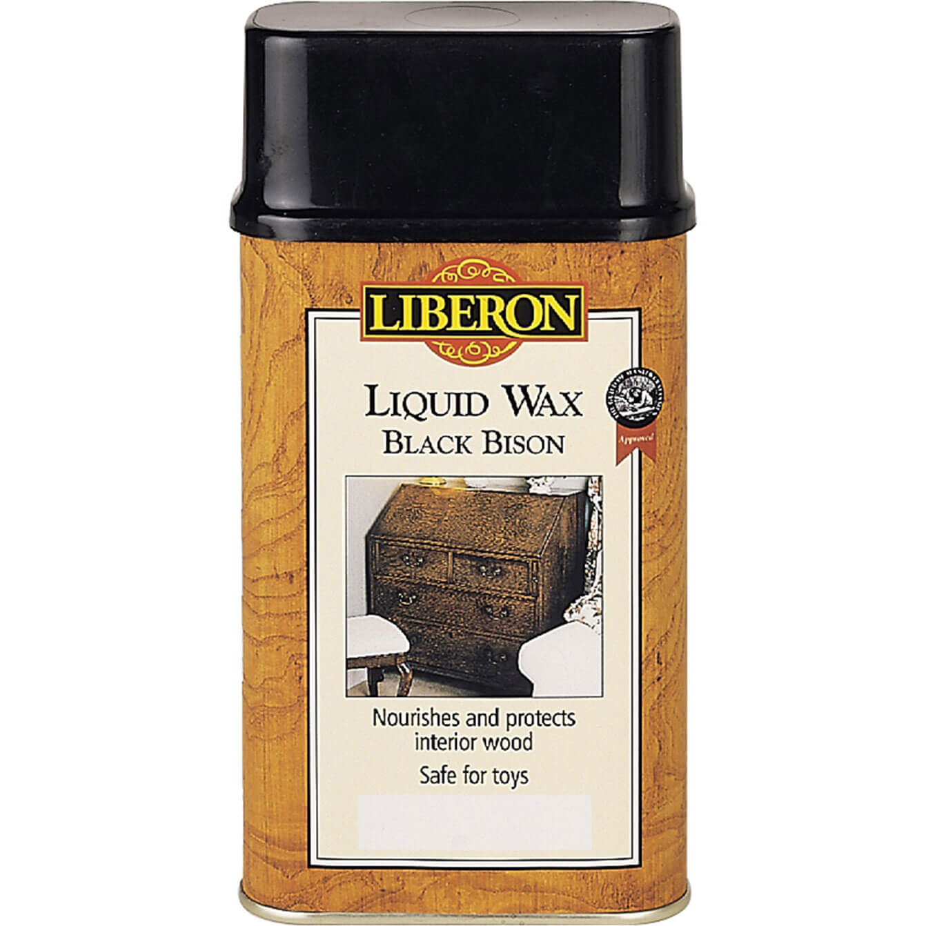 Image of Liberon Black Bison Liquid Wax Antique Pine 500ml