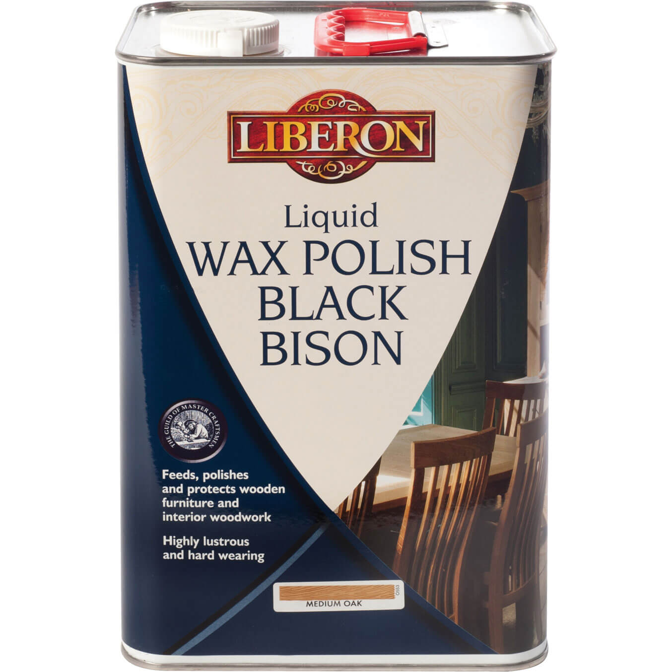 Image of Liberon Black Bison Liquid Wax Clear 5l