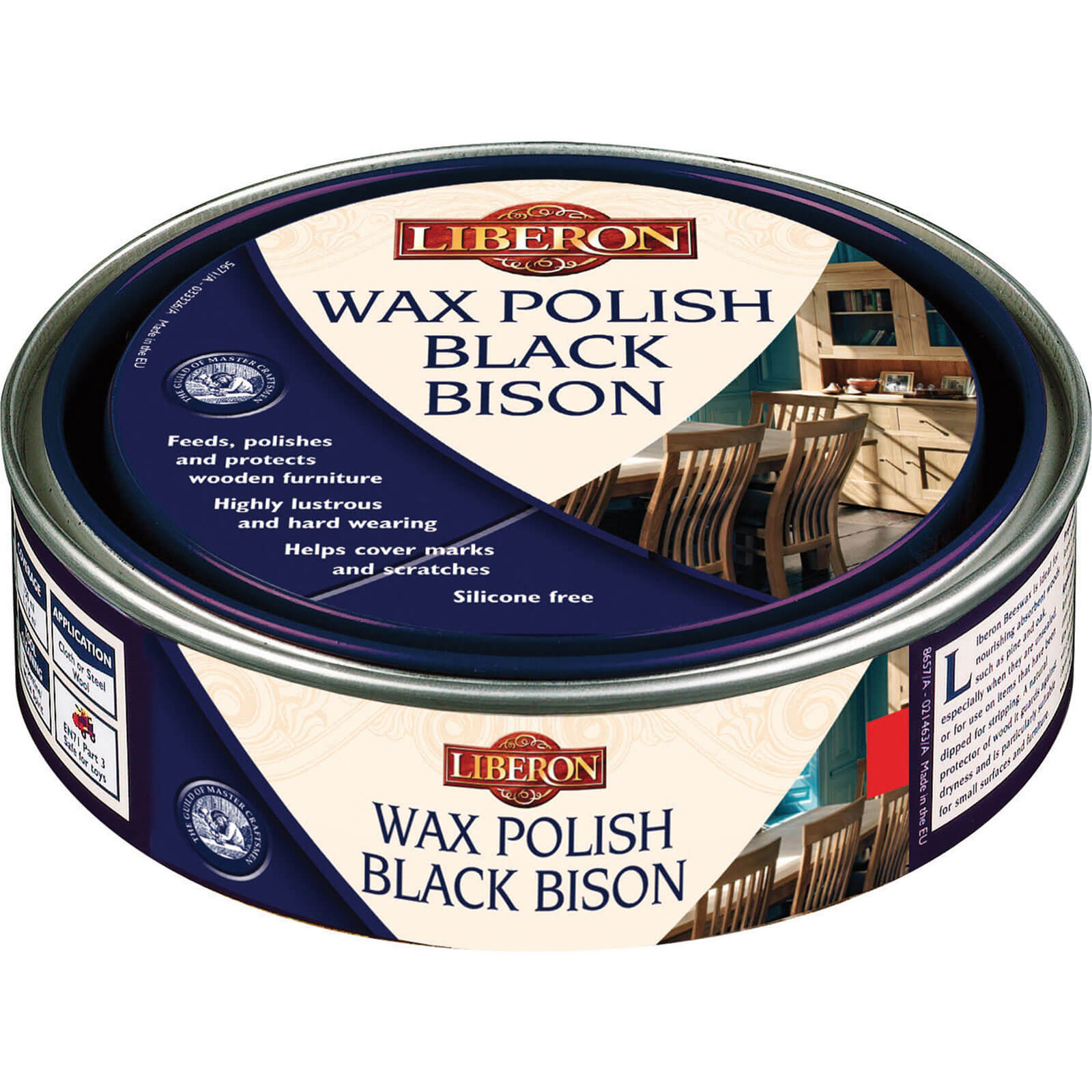 Image of Liberon Bison Paste Wax Clear 500ml