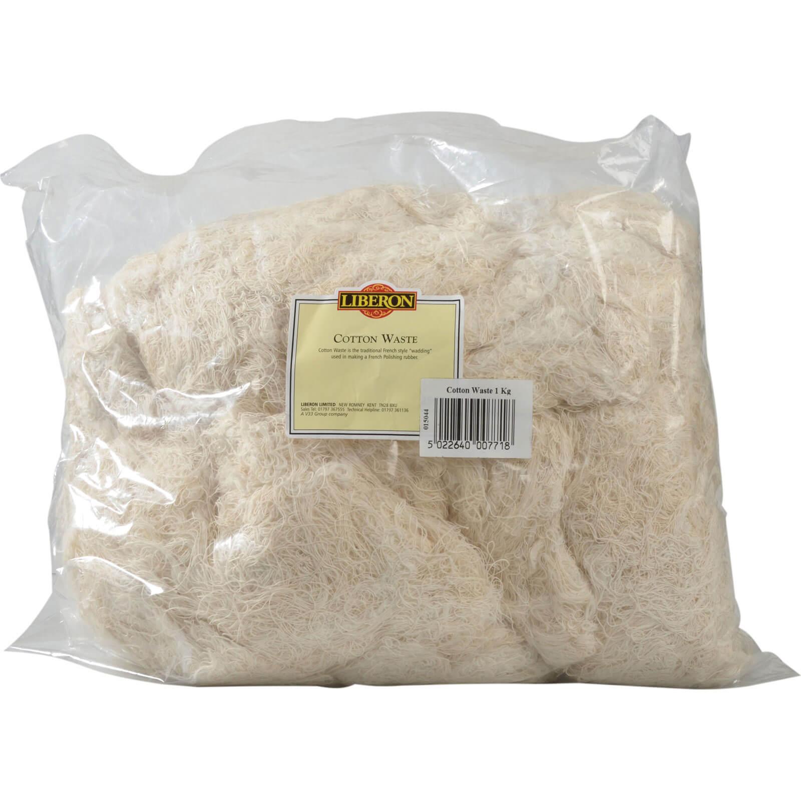 Image of Liberon Cotton Waste 1kg