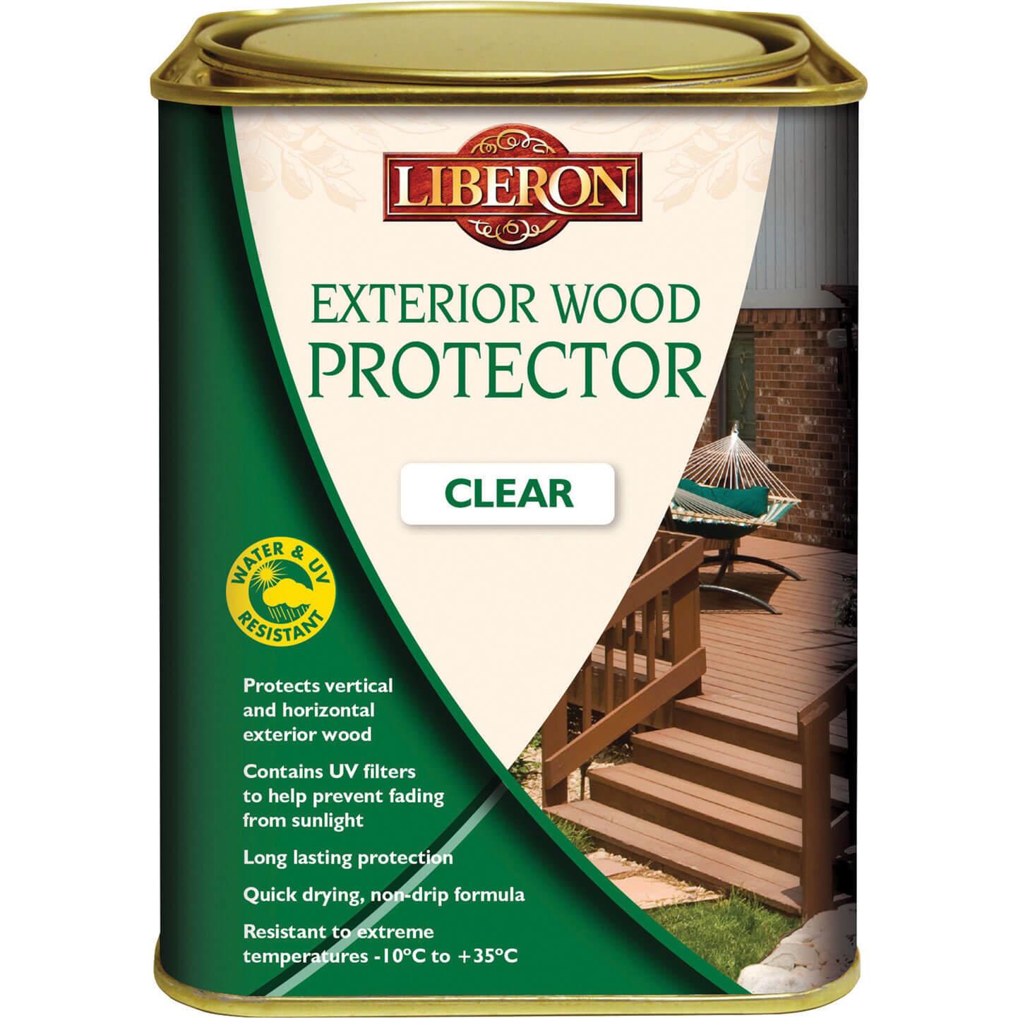 Image of Liberon Exterior Wood Protector 1l Clear