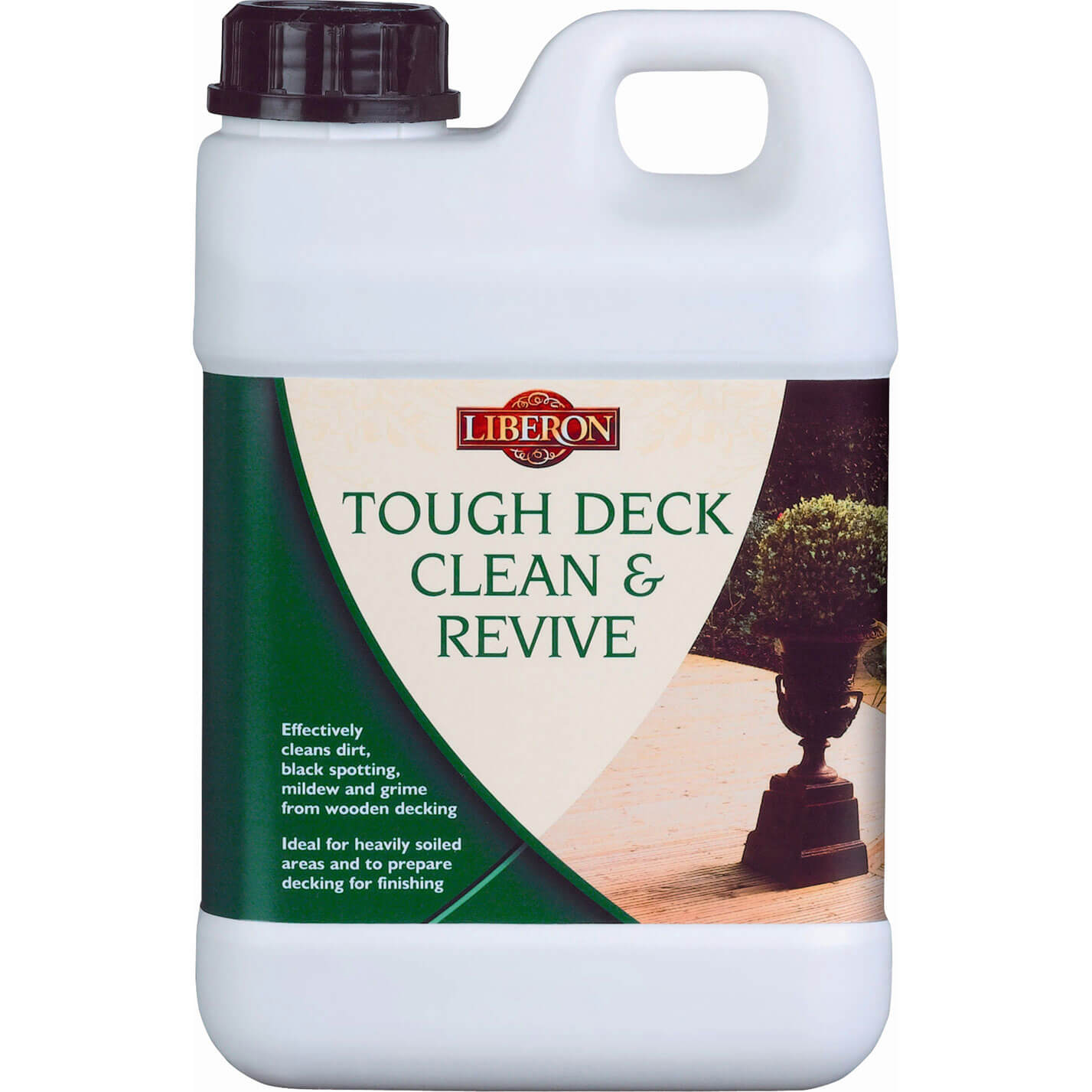 Image of Liberon Tough Deck Clean & Revive Decking Cleaner 2l