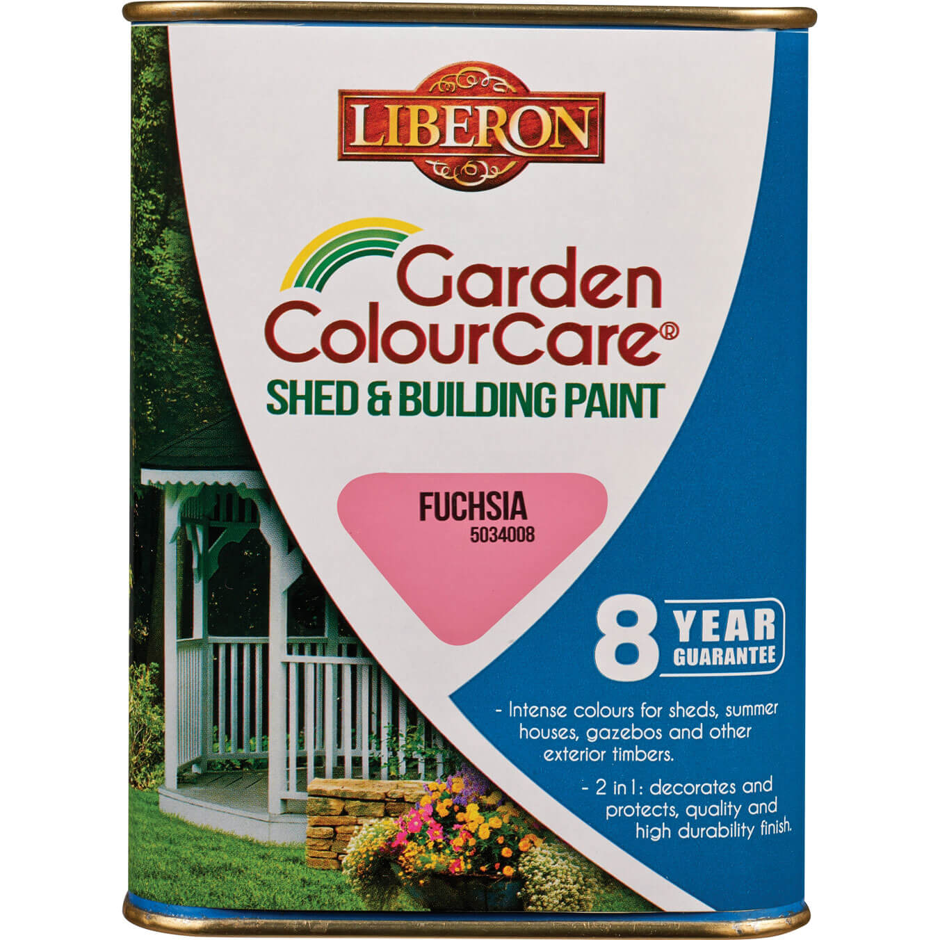 Liberon Shed & Building Exterior Paint Fuchsia 1l