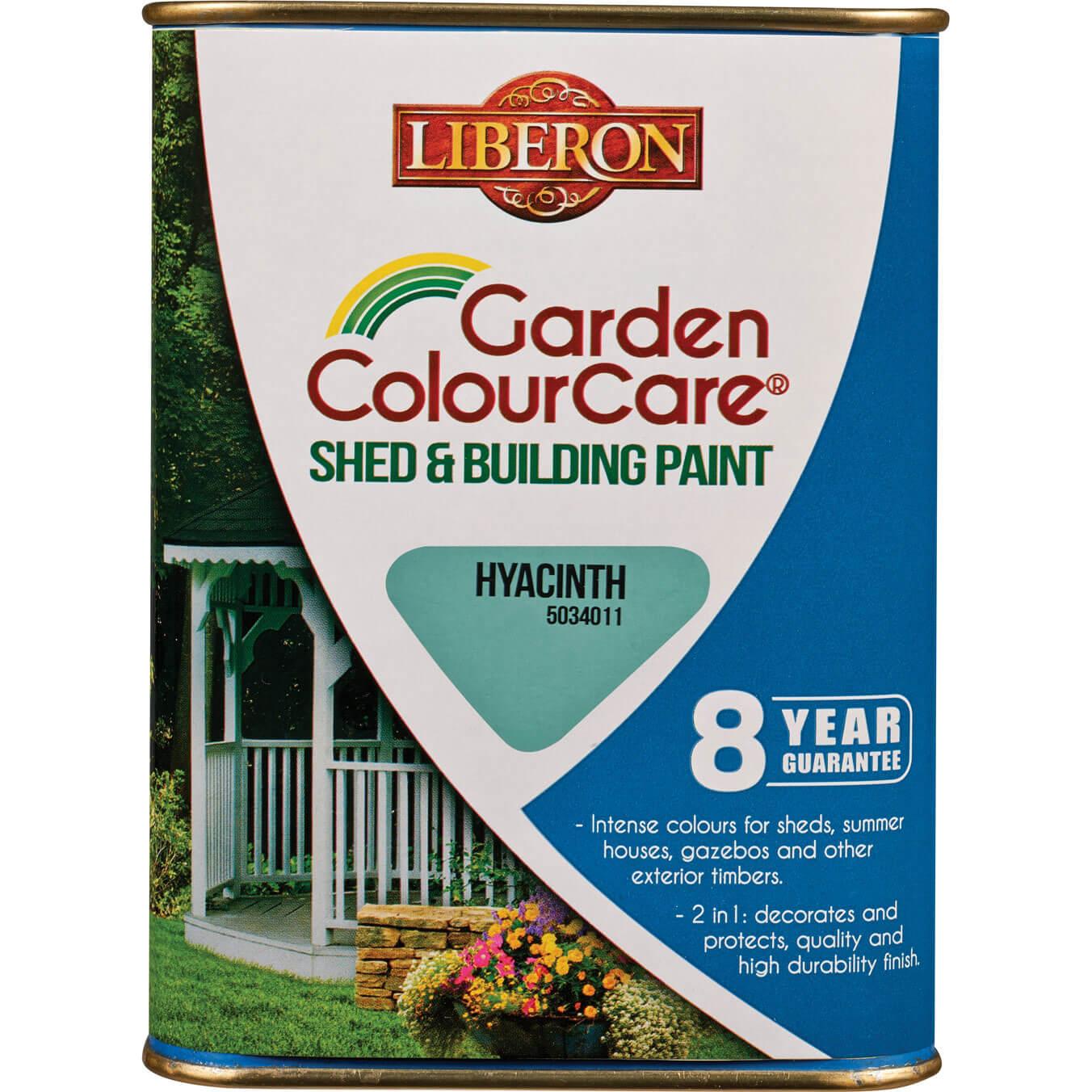 Liberon Shed & Building Exterior Paint Hyacinth 1l