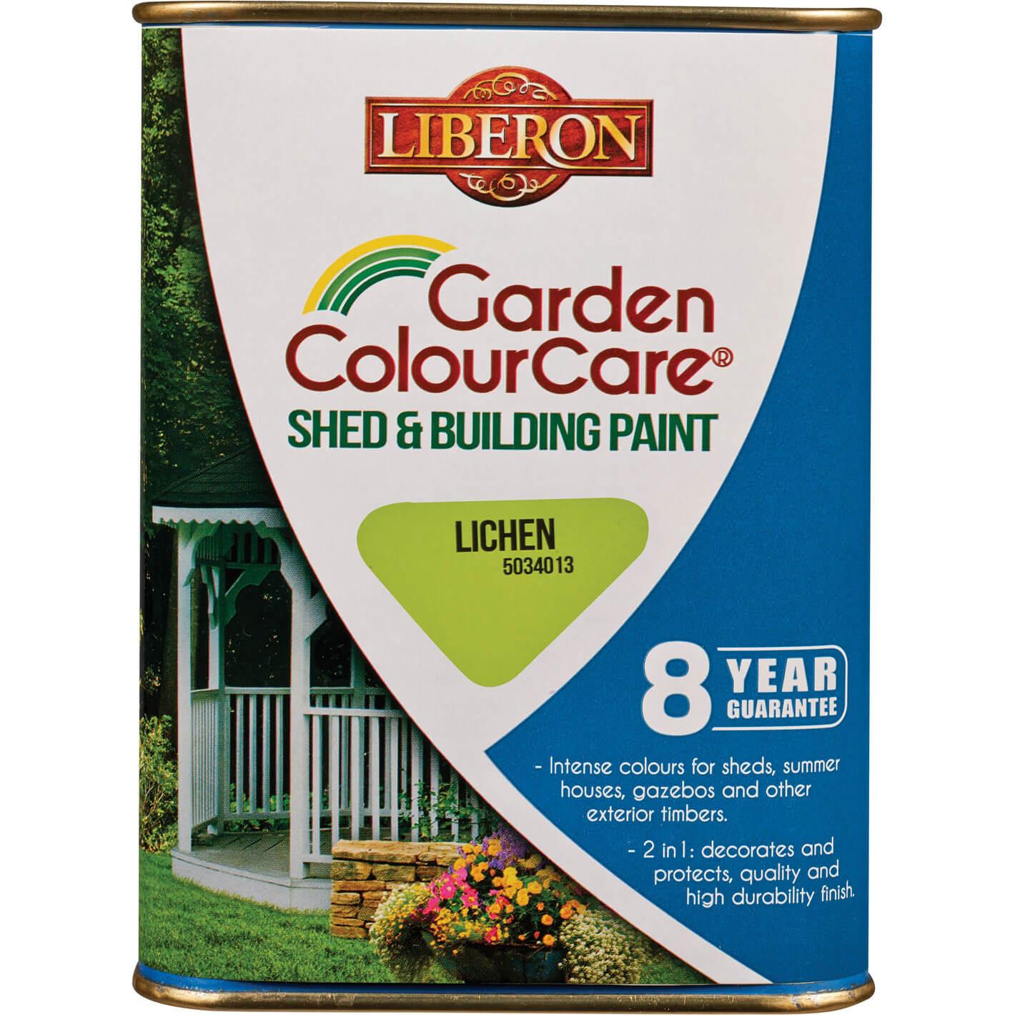 Liberon Shed & Building Exterior Paint Lichen 1l