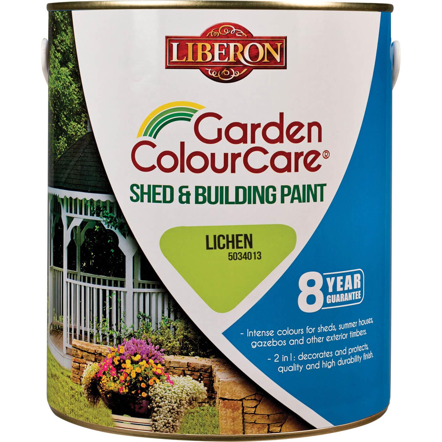 Liberon Shed & Building Exterior Paint Lichen 2.5l