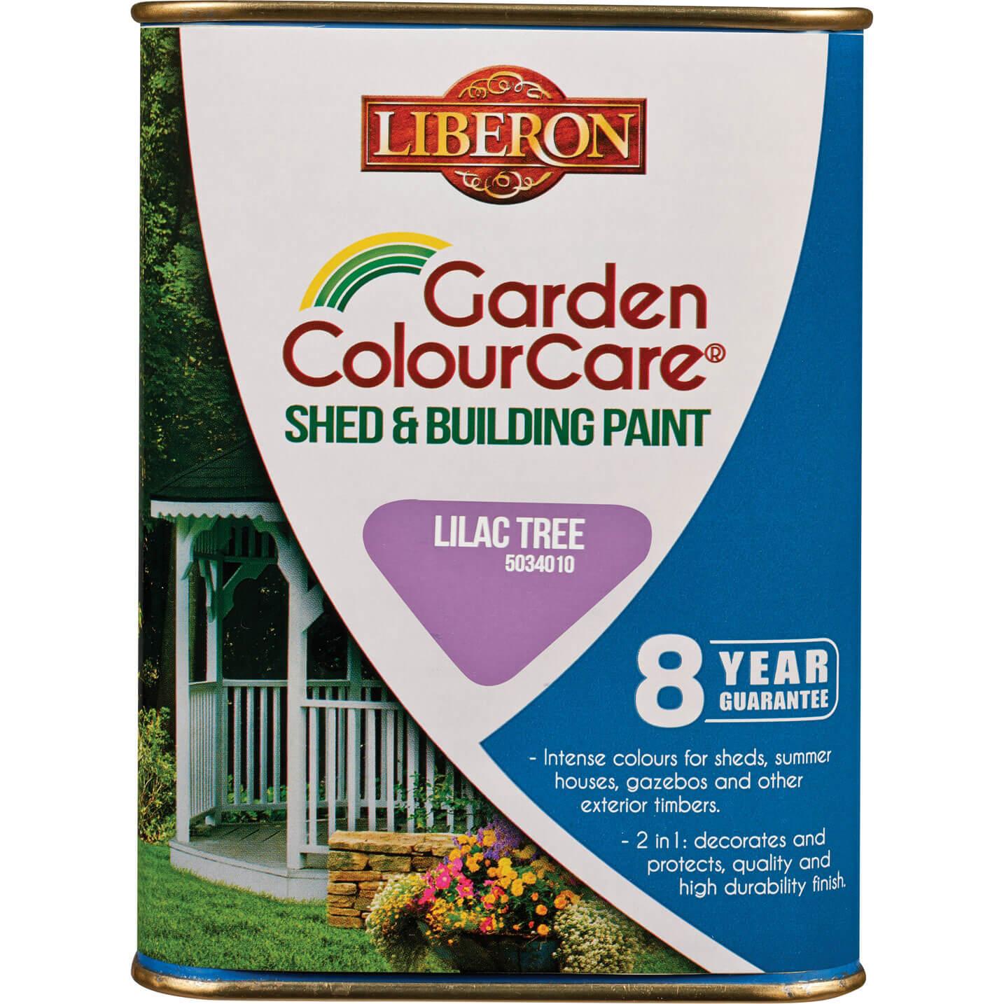 Liberon Shed & Building Exterior Paint Lilac Tree 1l