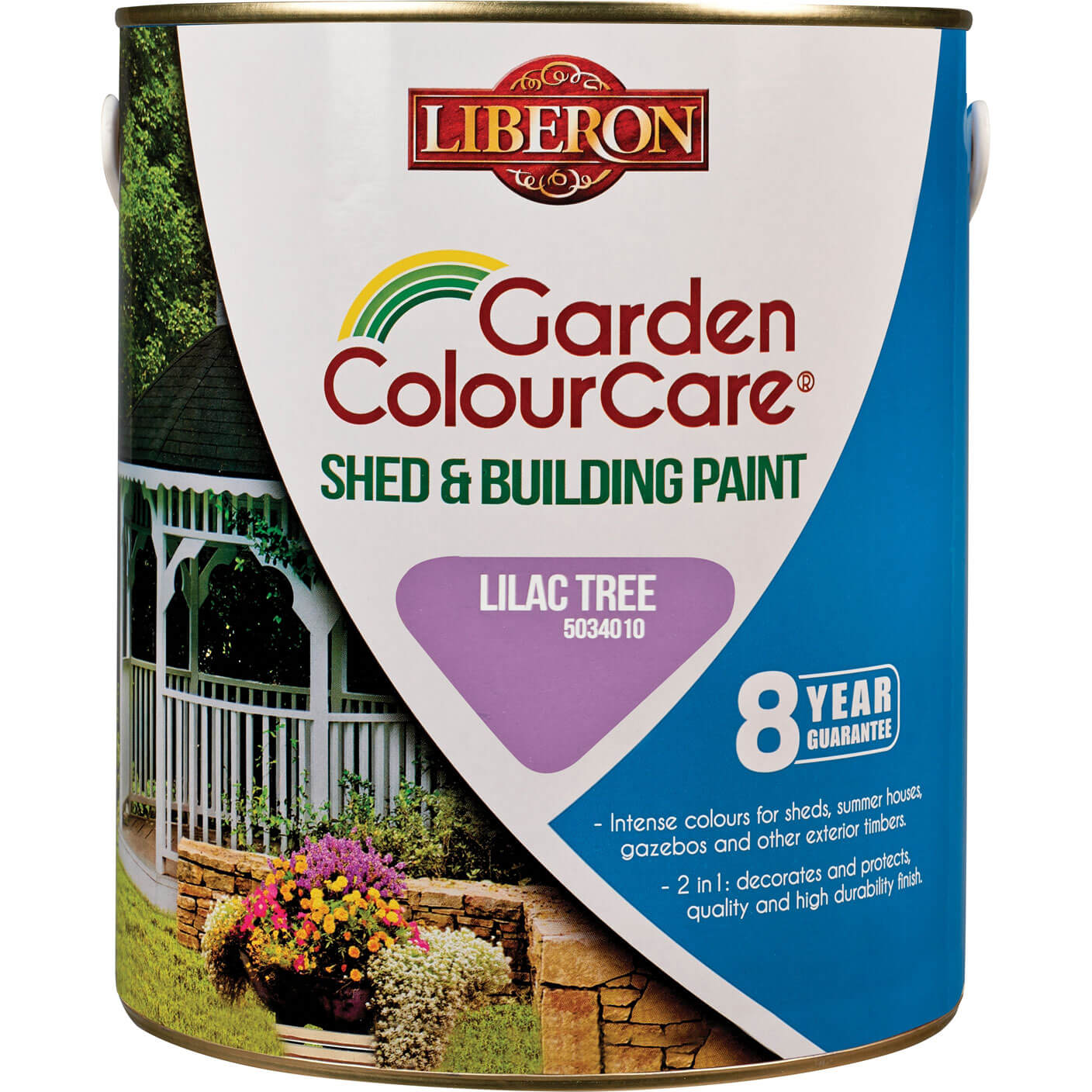 Liberon Shed & Building Exterior Paint Lilac Tree 2.5l