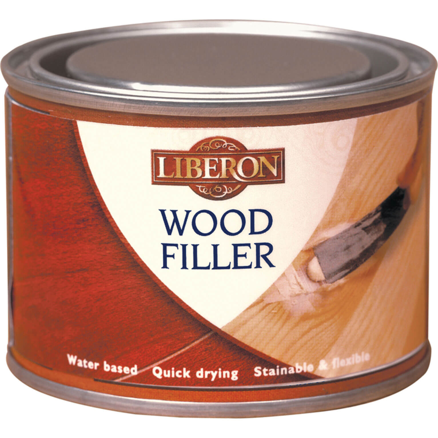 Image of Liberon Wood Filler Antique Pine 125ml