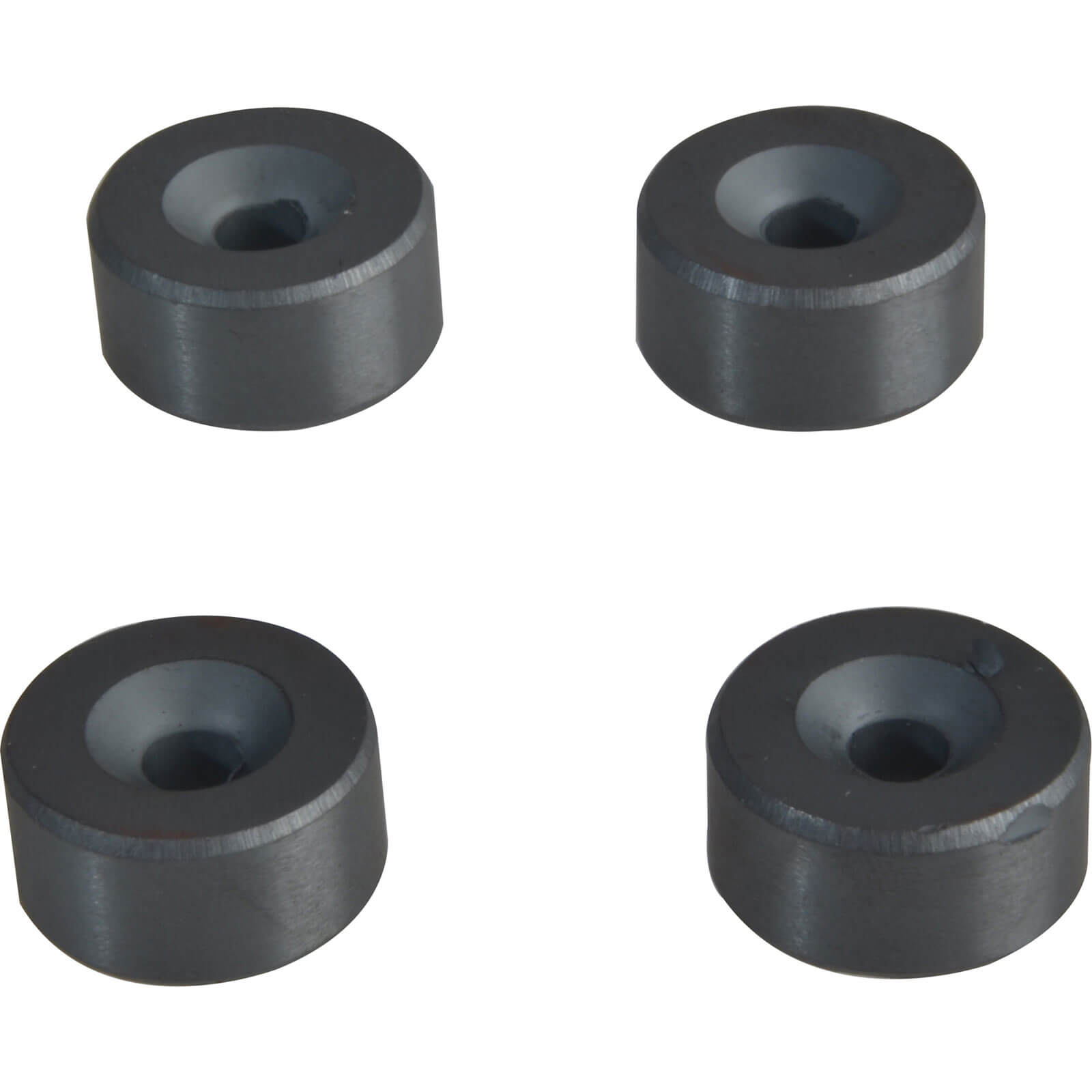 Image of E Magnet 630 Ferrite Magnet with Countersink 20mm Pack of 4