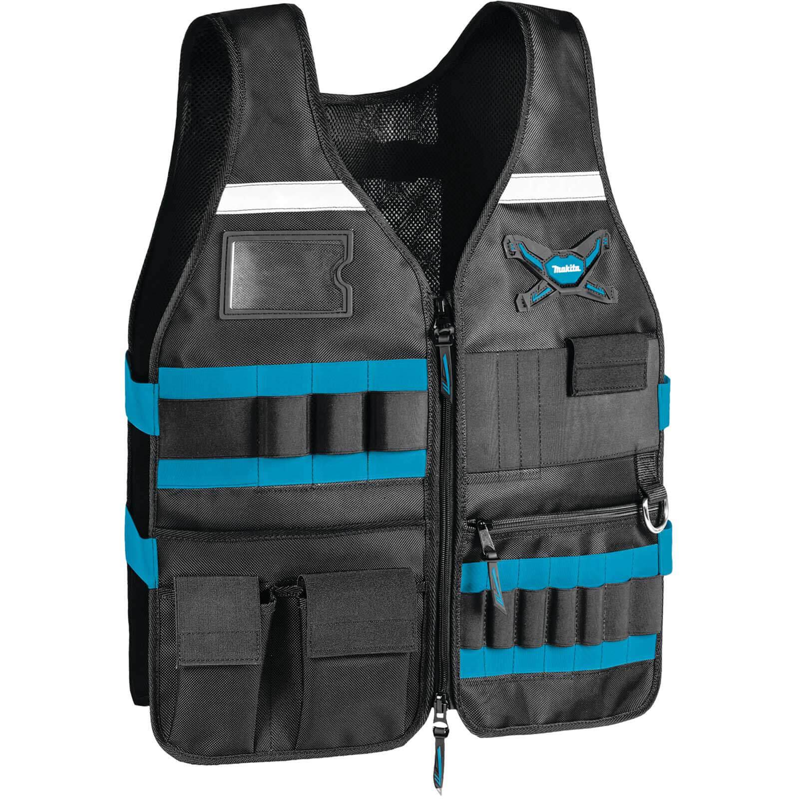 Makita Work Vest - Adjustable Pockets