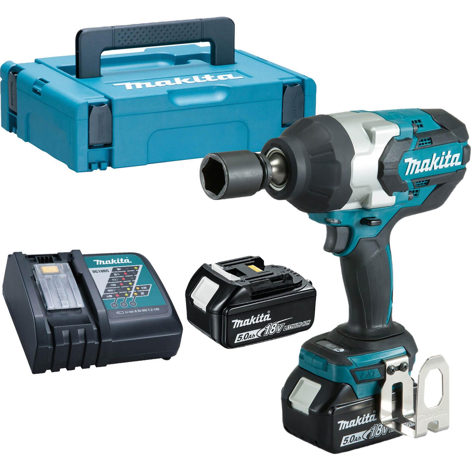 Makita dtw1002z 18v cordless lxt brushless impact wrench 1 - Batterie makita 18v 5ah ...