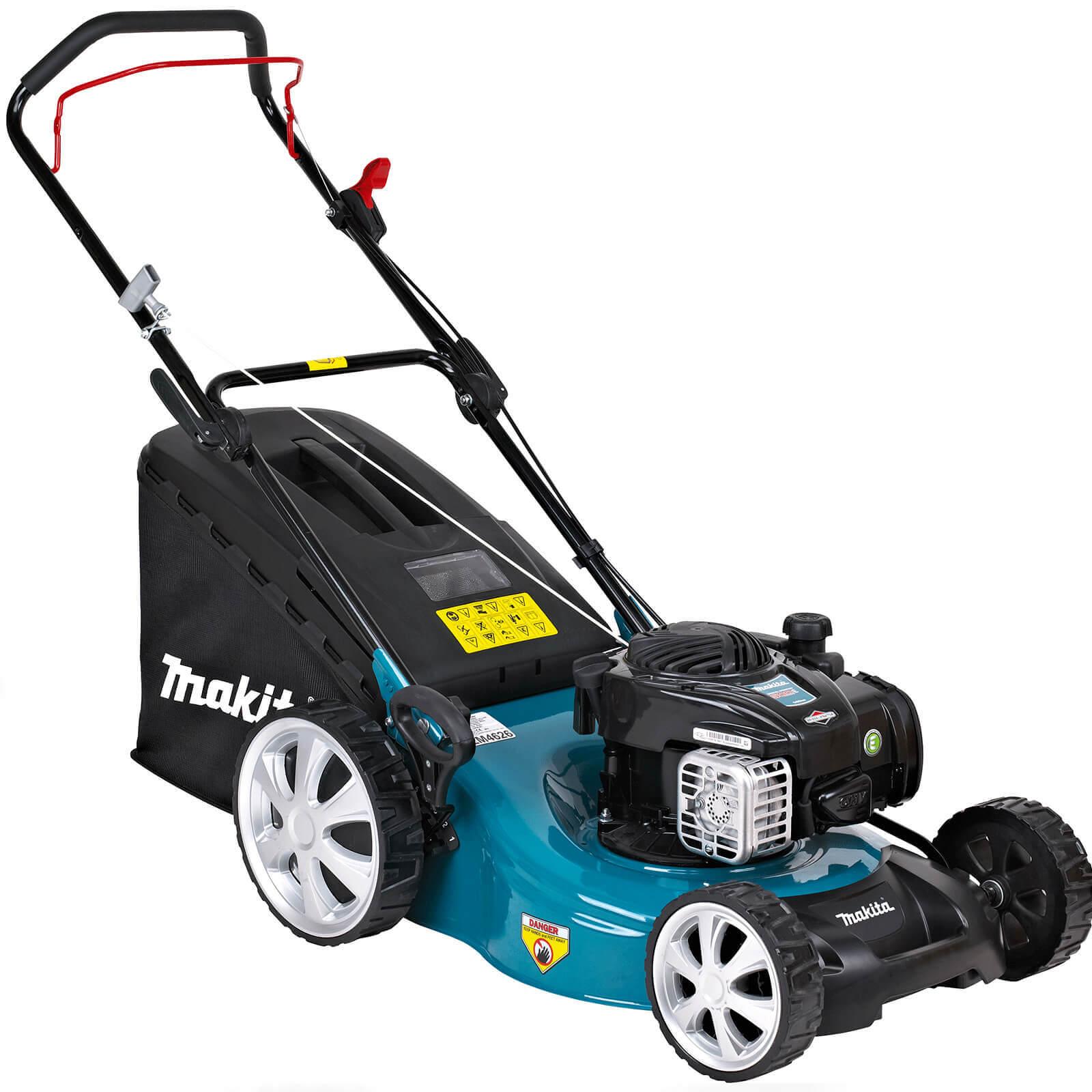 Image of Makita PLM4626N Push Petrol Rotary Lawnmower 460mm