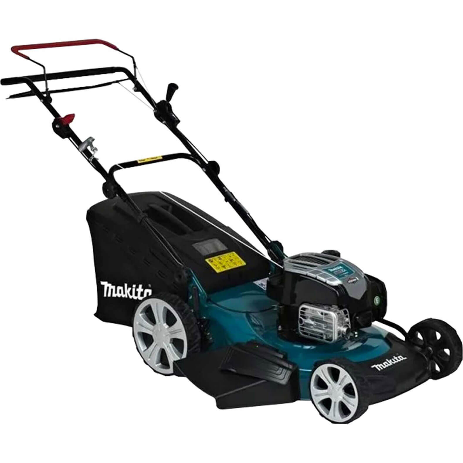 Image of Makita PLM5600N2 Petrol Rotary Lawnmower 560mm