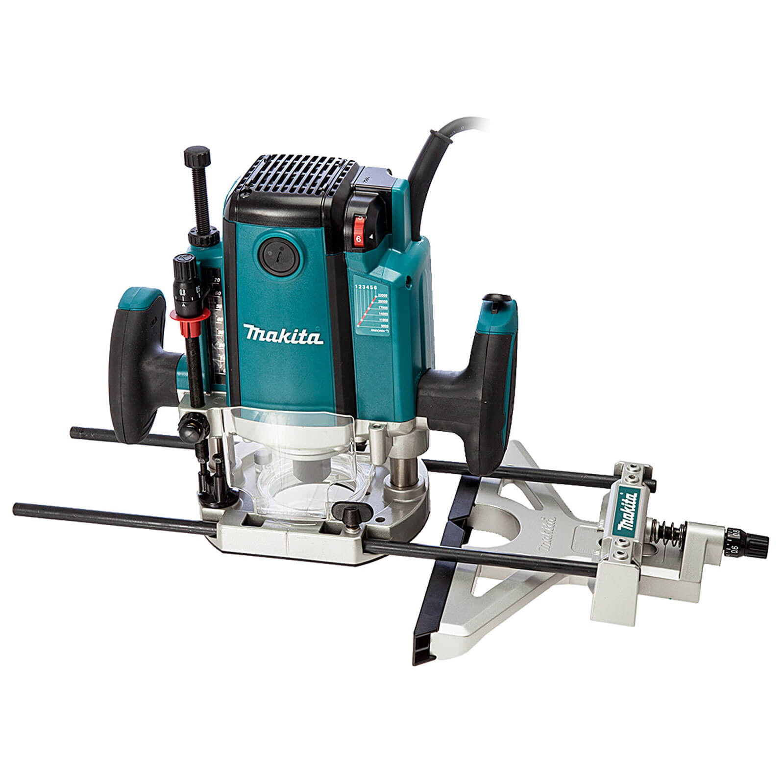 "Makita Router RP2301FCX 1/2"" plunge router 240 volt"