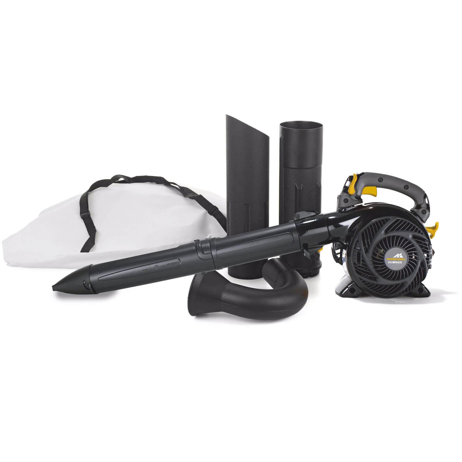 McCulloch GBV 345 Petrol Garden Vacuum & Leaf Blower
