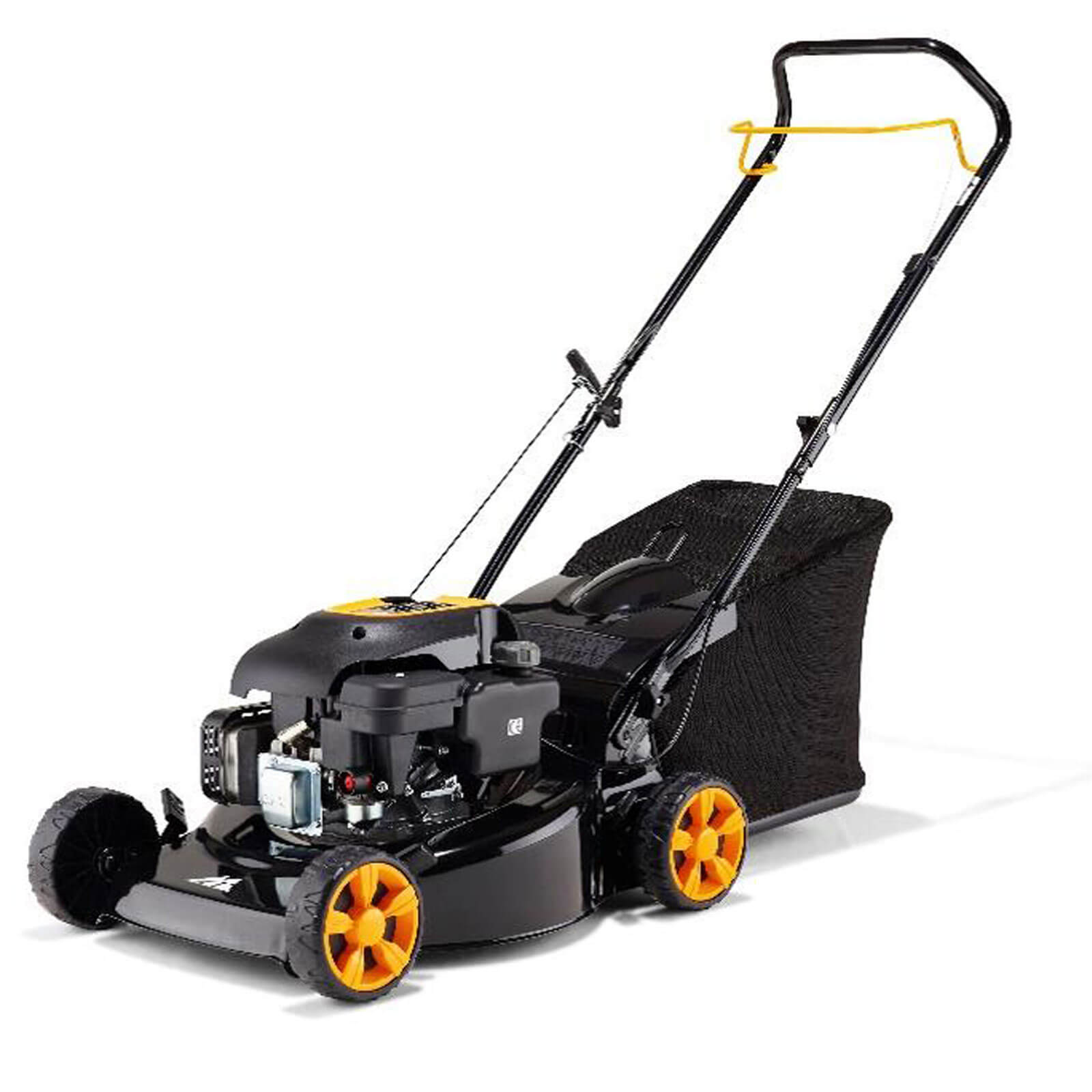 mcculloch m40 125 push petrol rotary lawnmower 400mm. Black Bedroom Furniture Sets. Home Design Ideas