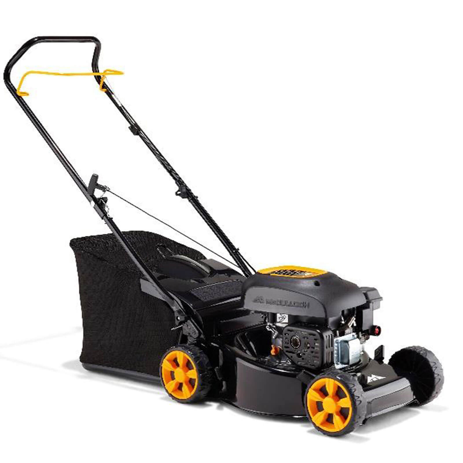 Image of McCulloch M46-110 Push Petrol Rotary Lawnmower 460mm