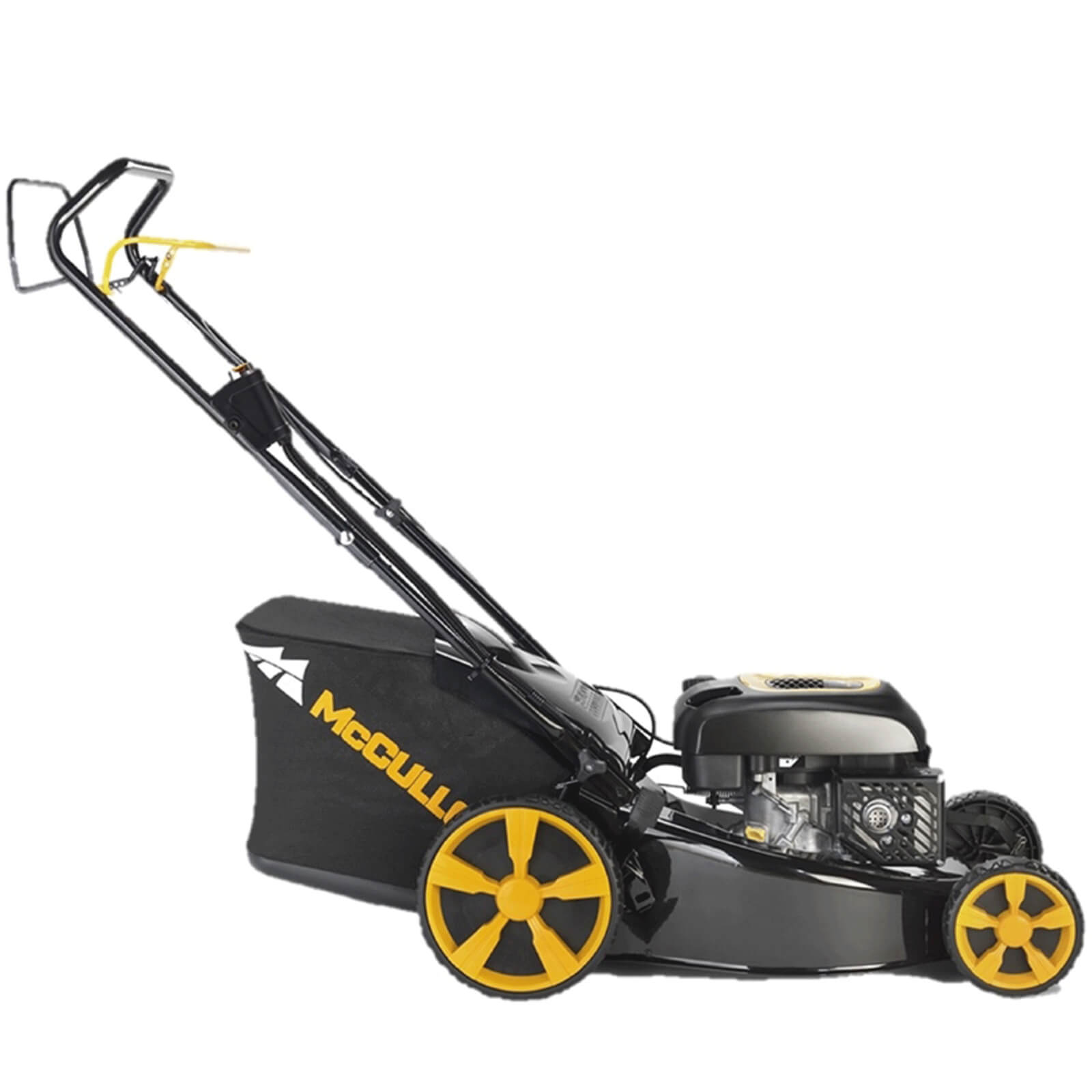 McCulloch M51-174WRE Electric Start Self Propelled Petrol Rotary Lawnmower 510mm