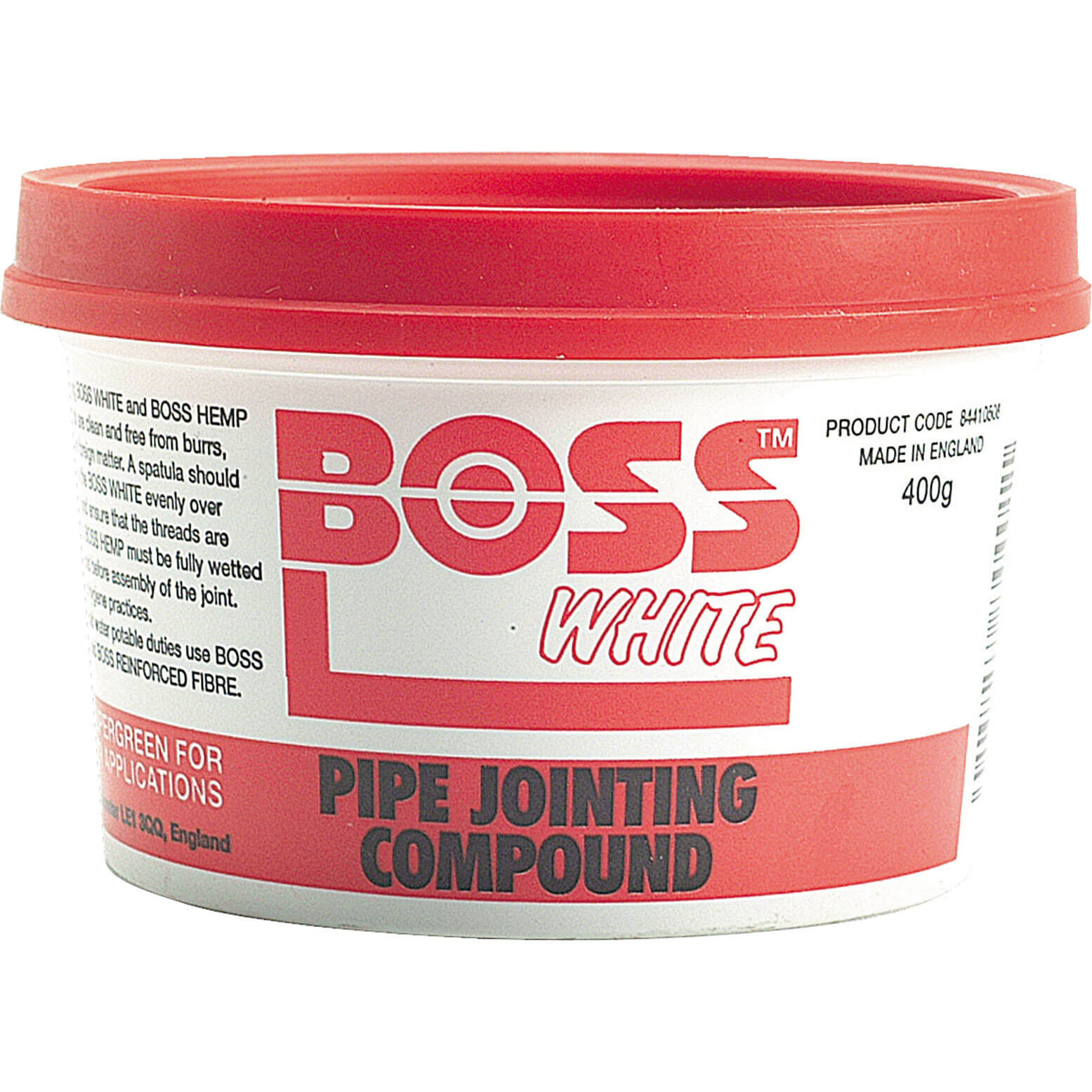 Image of Boss White Pipe Jointing Compound 400g