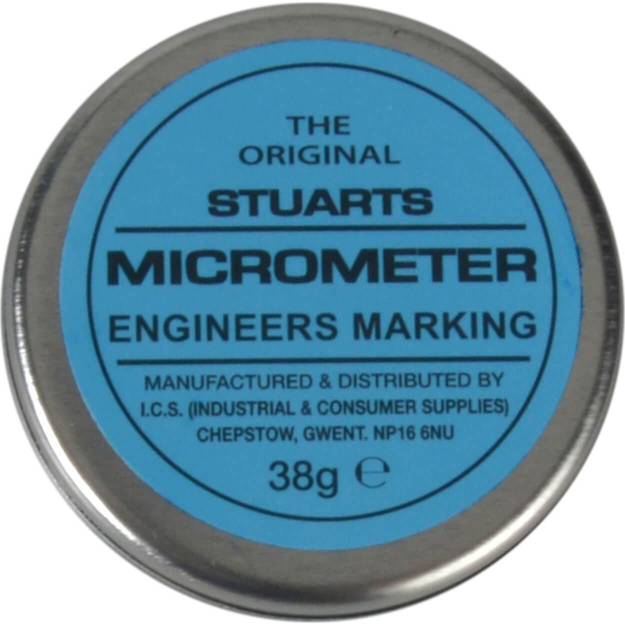 Image of Stuarts Original Micrometer Engineers Marking Blue