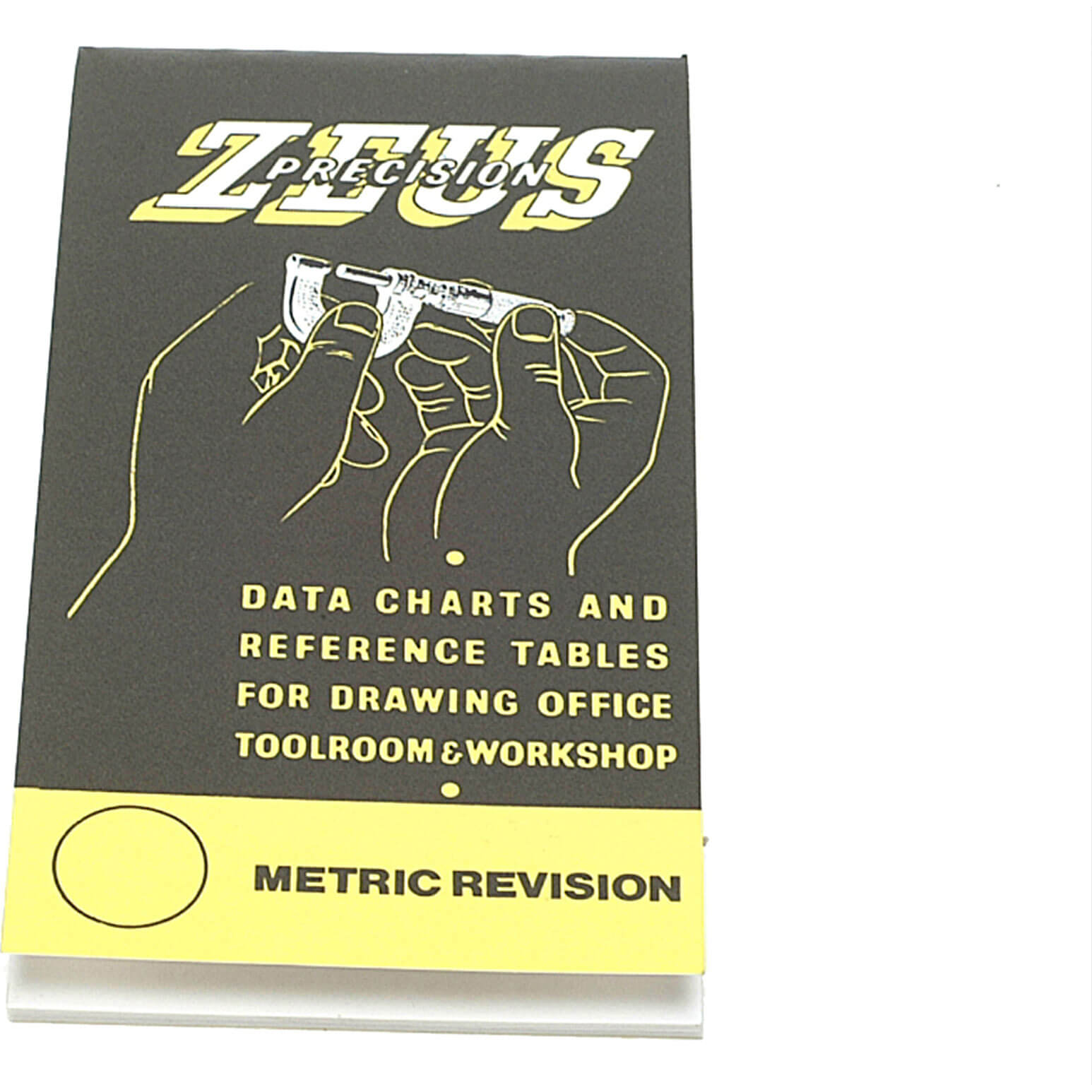 Image of Zeus Precision Data Charts & Reference Tables Book