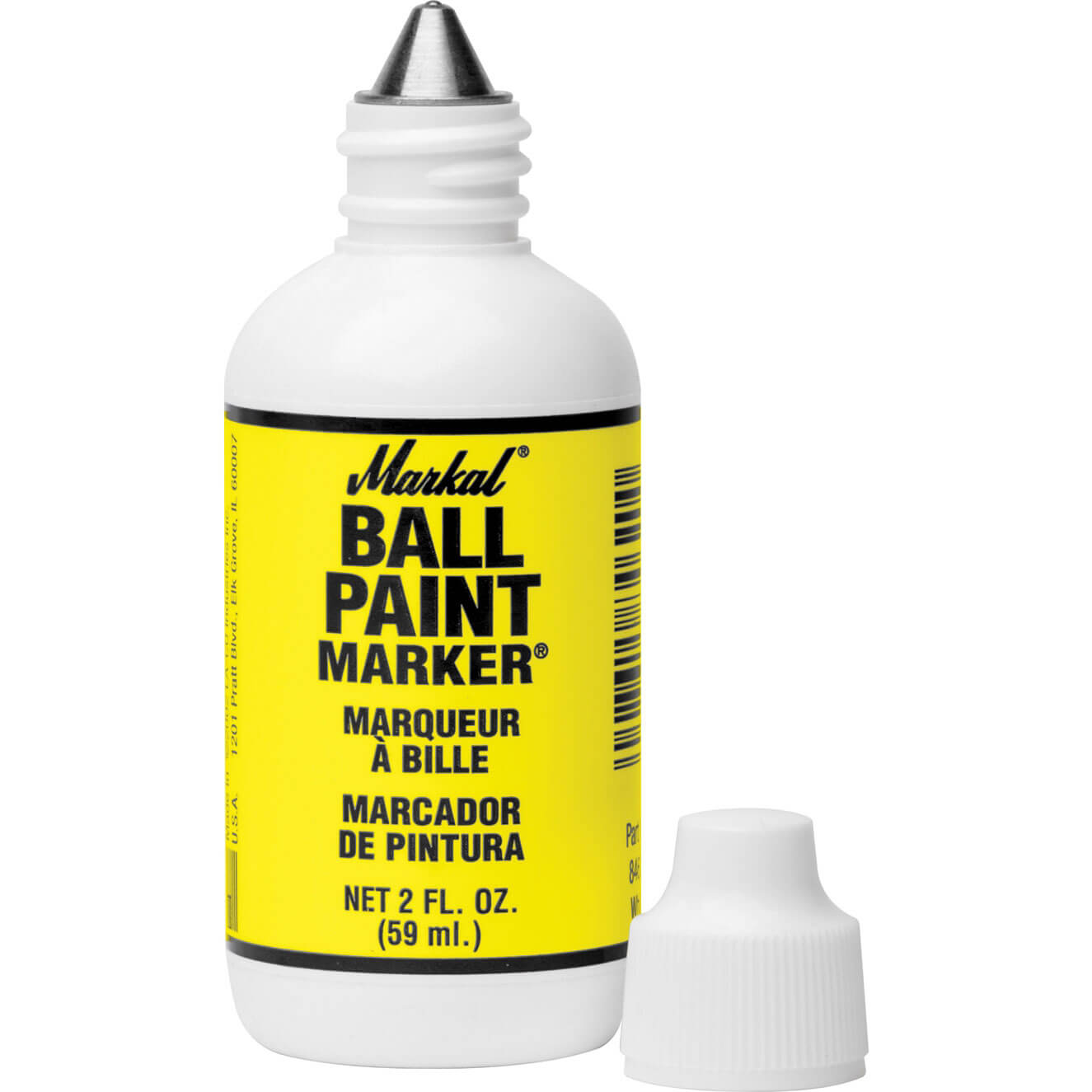 Image of Markal Ball Paint Marker Yellow