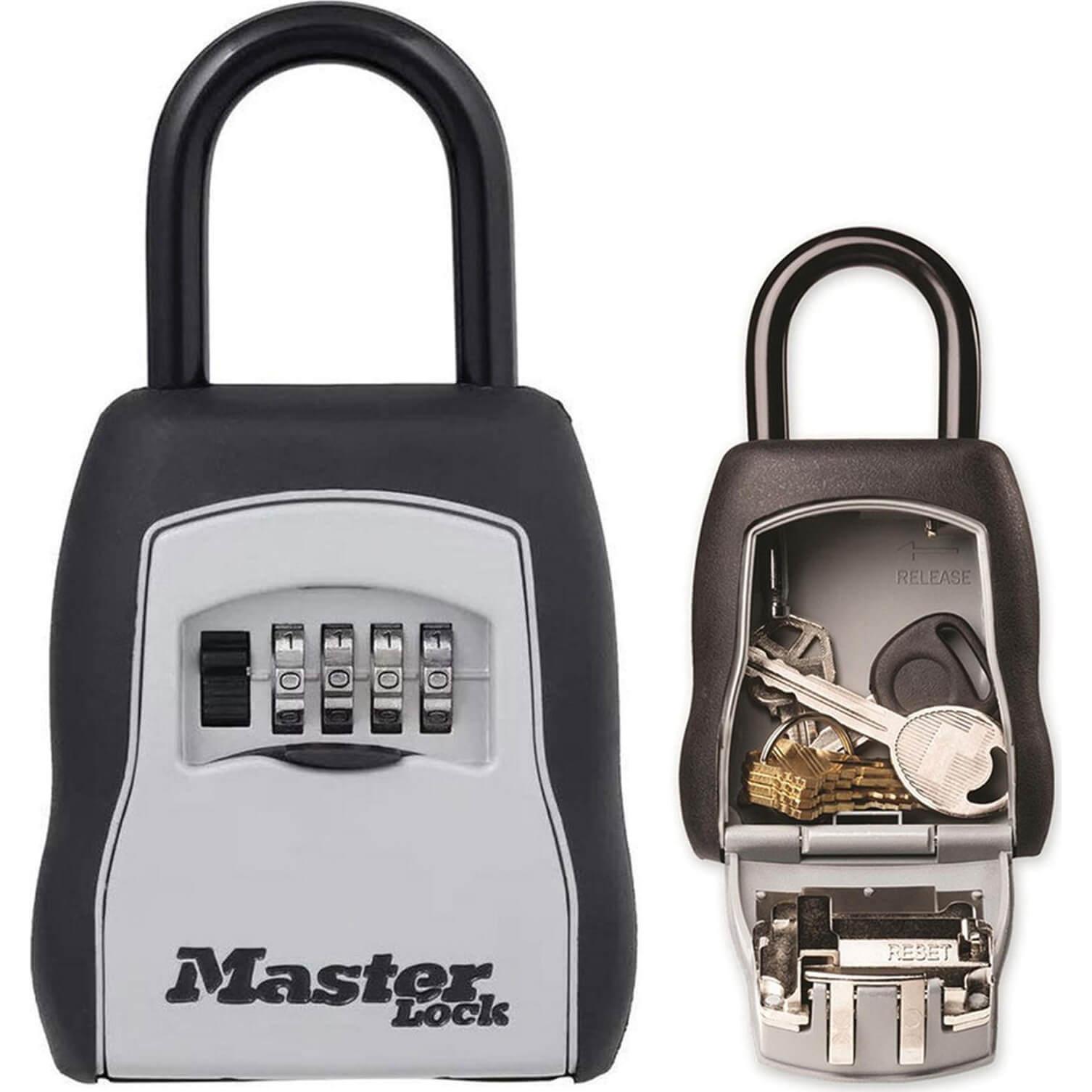 Image of Masterlock Portable Shackled Combination Key Safe