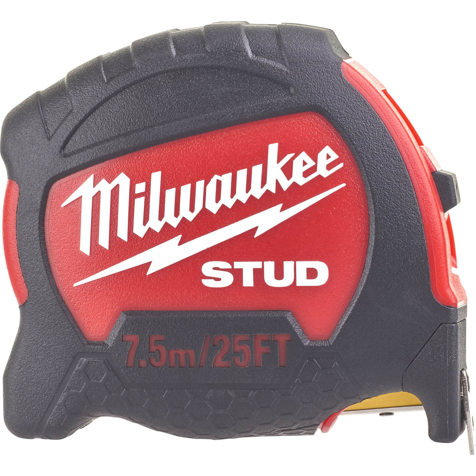 Click to view product details and reviews for Milwaukee Stud Tape Measure Imperial Metric 25ft 75m 27mm.