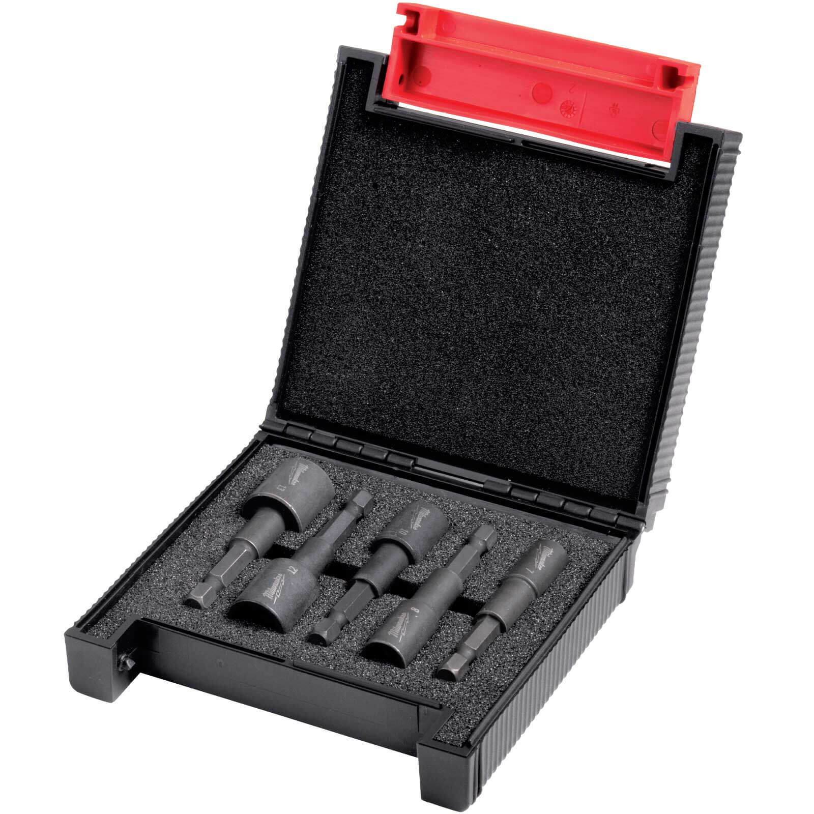 Image of Milwaukee 5 Piece Shockwave Impact Magnetic Nut Driver Set