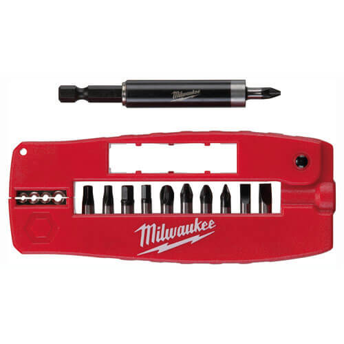 Image of Milwaukee 12 Piece Shockwave Screwdriver Bit Set