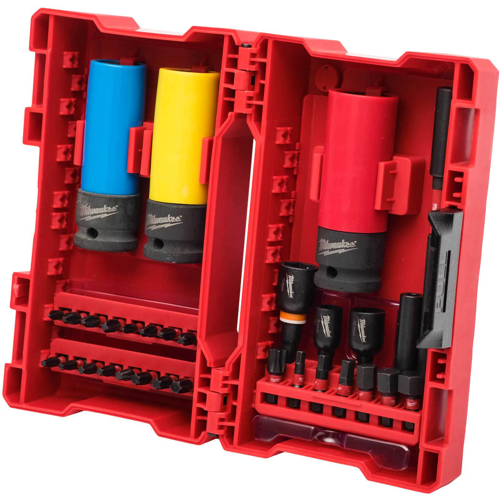 Image of Milwaukee 31 Piece Shockwave Impact Socket & Screwdriver Bit Set