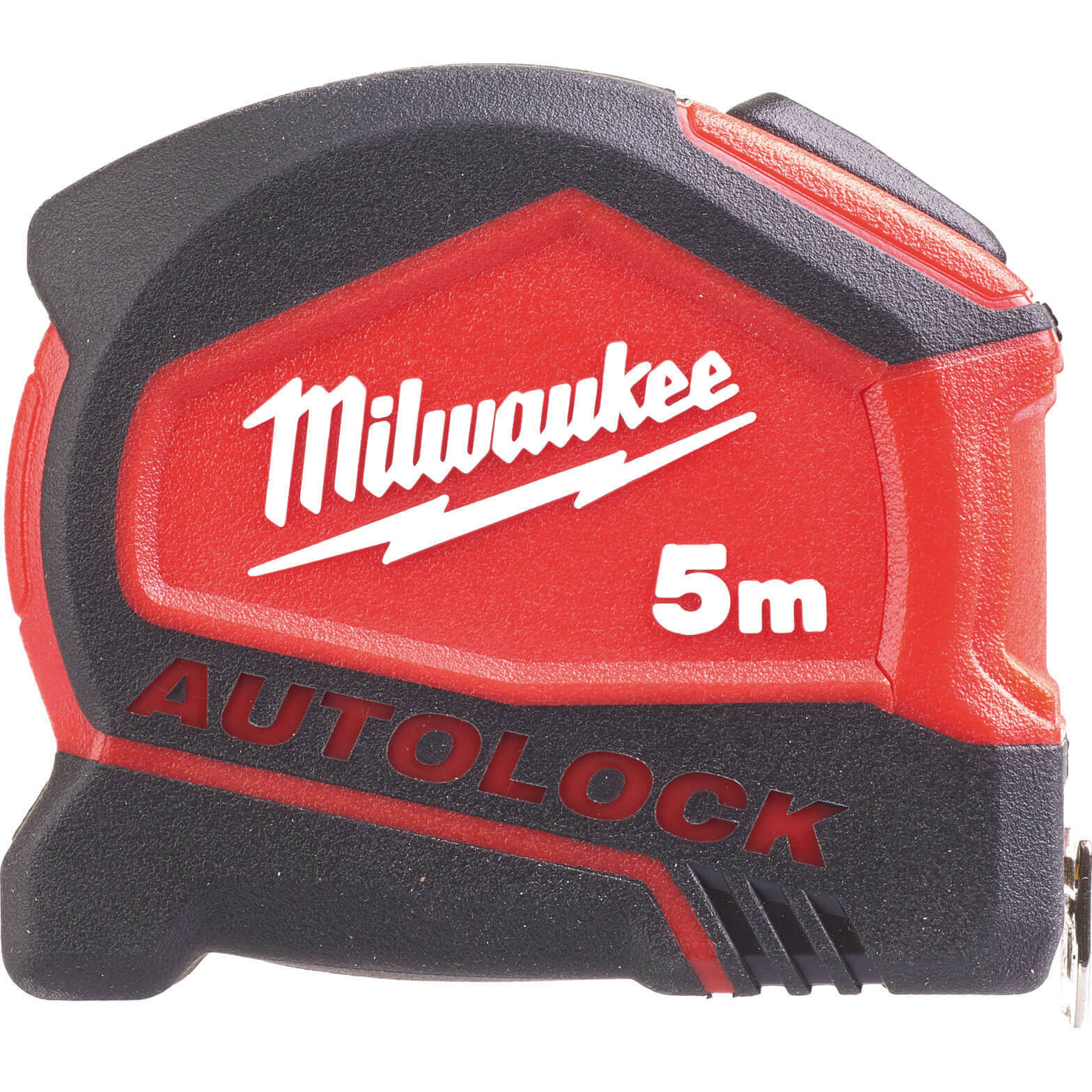 Image of Milwaukee Autolock Tape Measure Imperial & Metric 16ft / 5m 25mm