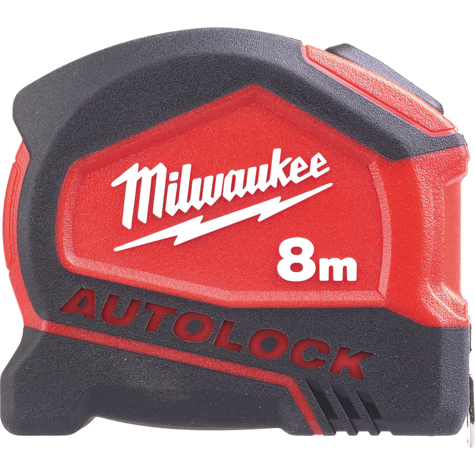 Image of Milwaukee Autolock Tape Measure Imperial & Metric 26ft / 8m 25mm