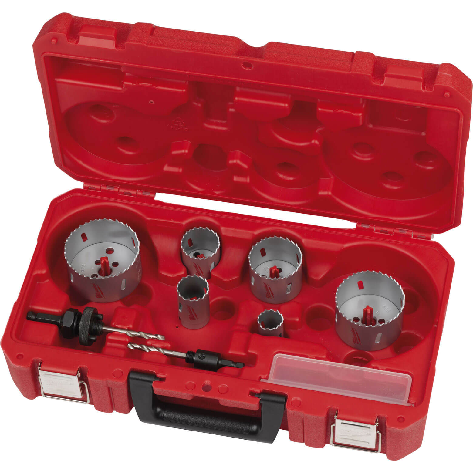 Image of Milwaukee 10 Piece Contrator Bi-Metal Holesaw Set