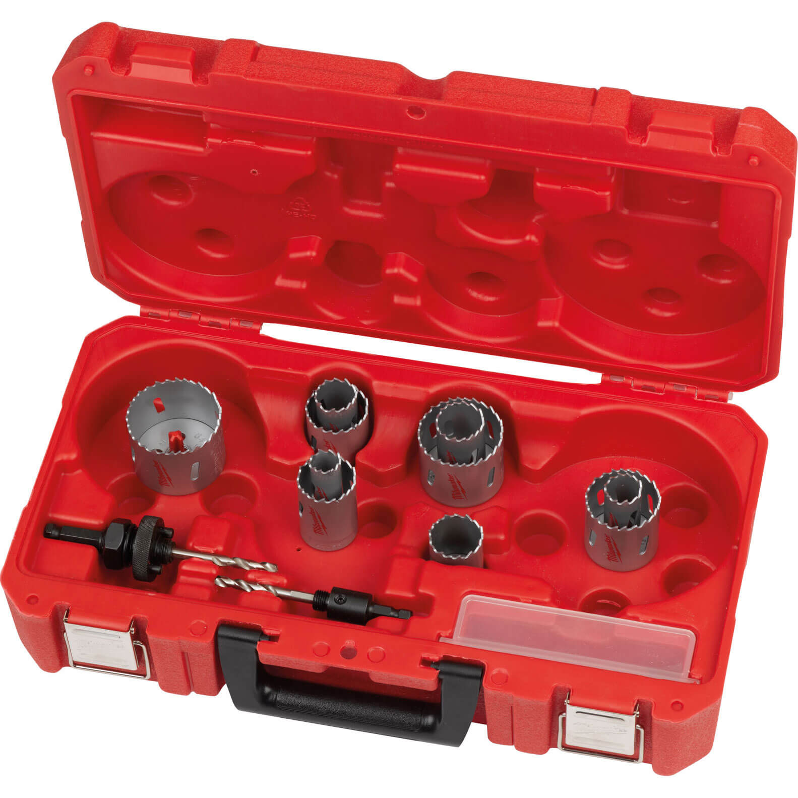 Image of Milwaukee 14 Piece Contrator Bi-Metal Holesaw Set