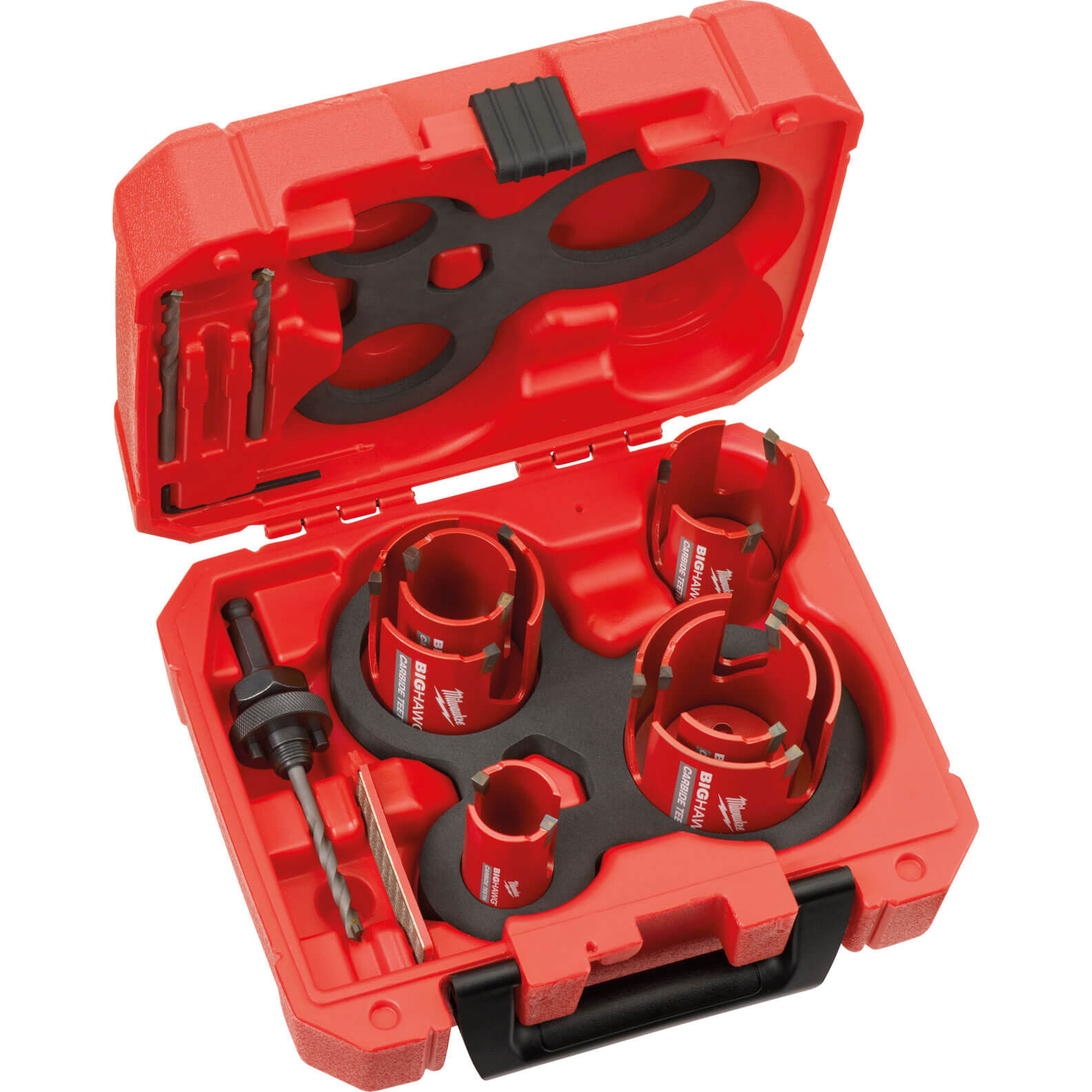 Image of Milwaukee 10 Piece Big Hawg Multi Material Hole Saw Set