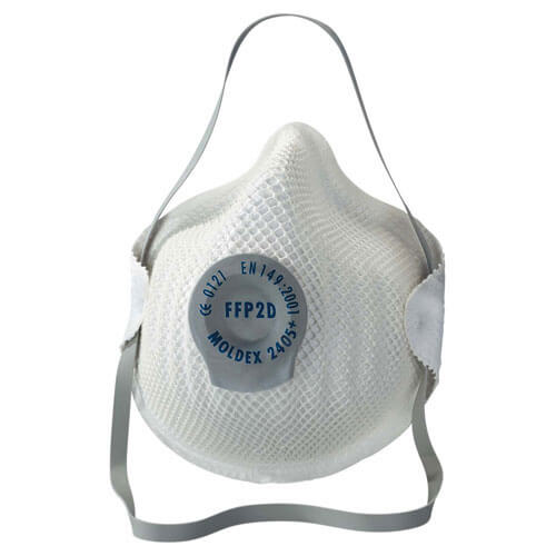 Image of Moldex 2405 Classic Disposable Dust Mask FFP2 Pack of 3