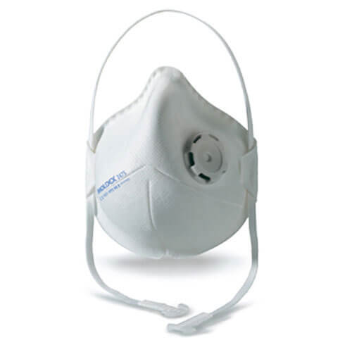 Image of Moldex 2475 Moulded Disposable Dust Mask FFP2 Pack of 10