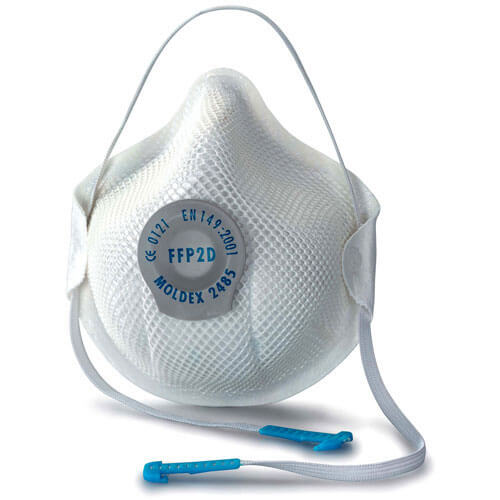 Image of Moldex 2485 Moulded Disposable Dust Mask FFP2 Pack of 20