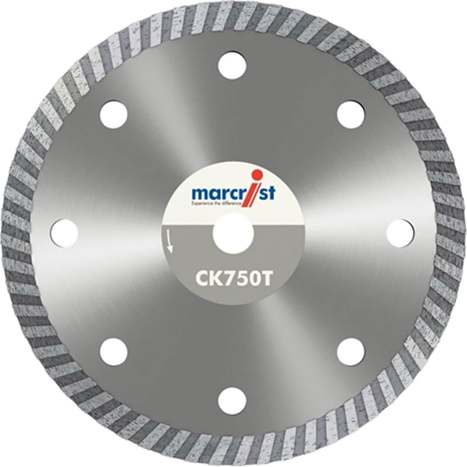 Image of Marcrist CK750T Ultra Thin Turbo Tile Diamond Cutting Disc 115mm