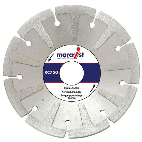 Image of Marcrist RC750 Angle Grinder Diamond Radius Cutting Disc 125mm